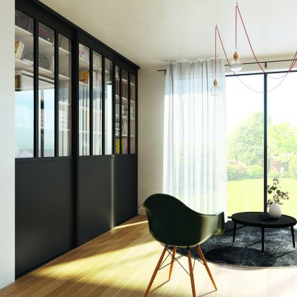 verriere usine fabulous verriere atelier artiste style loft with verriere usine amazing double. Black Bedroom Furniture Sets. Home Design Ideas